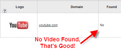 """Google initial search result for a Video on youtube for the search term """"how to build a free website online""""."""