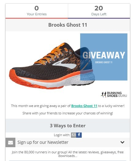 Shoe Blog Giveaway