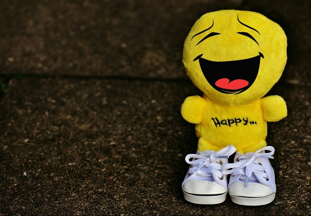 Happy Plush Dude