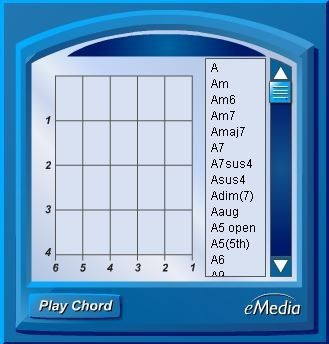 eMedia My Guitar Chord Dictionary