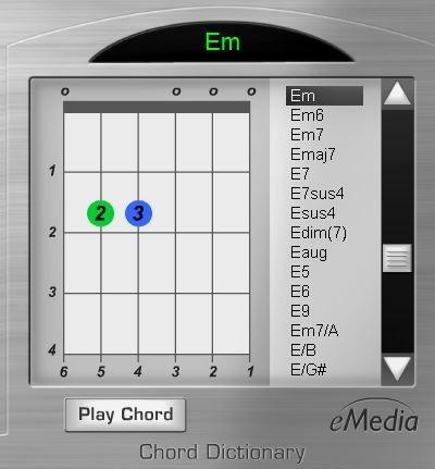 eMedia Chord Dictionary