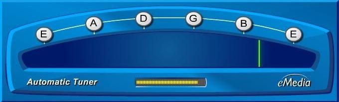 eMedia My Guitar Automatic Guitar Tuner