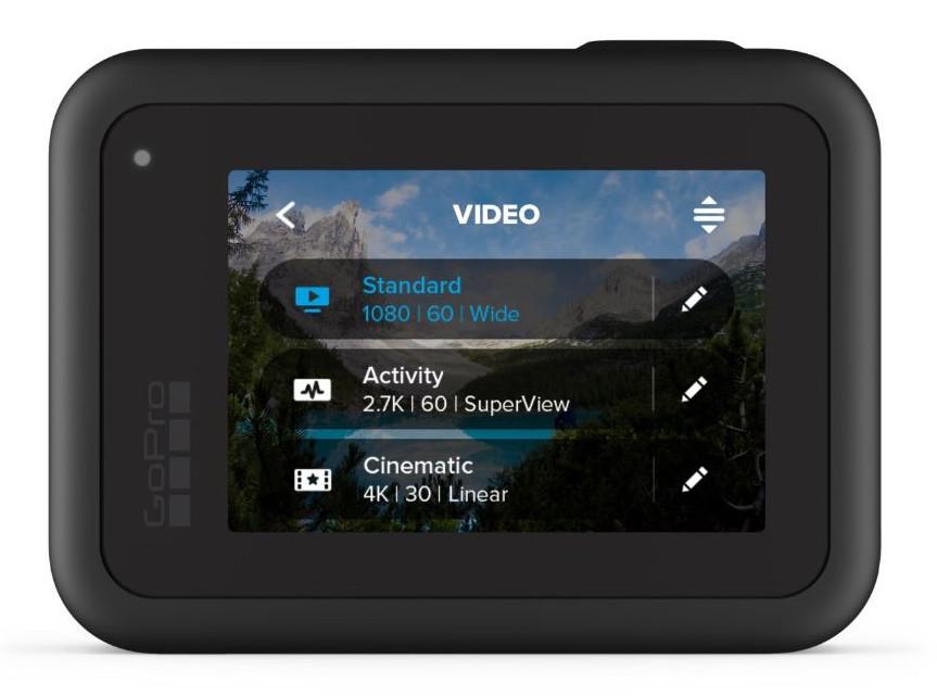 GoPro Hero8 Black Video Presets