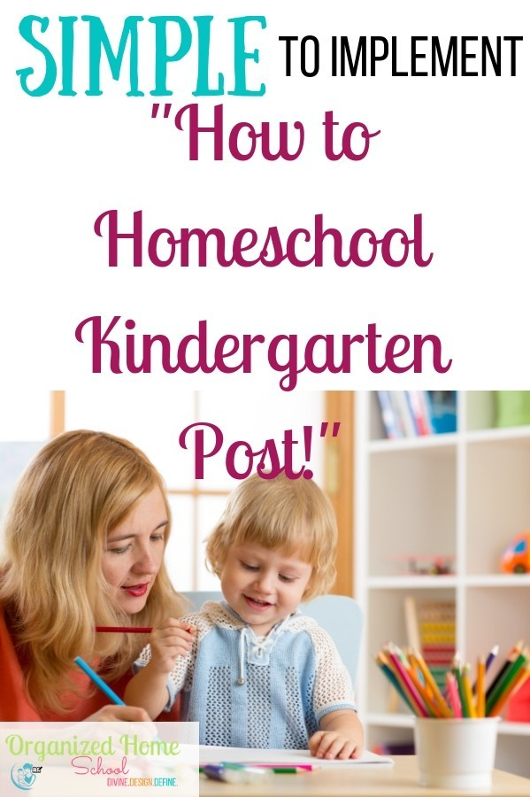 Don't be overwhelmed with all the how to homeschool kindergarten posts! Get all the ideas and tips you will ever need in this post to help your kids learning of sight words and more.