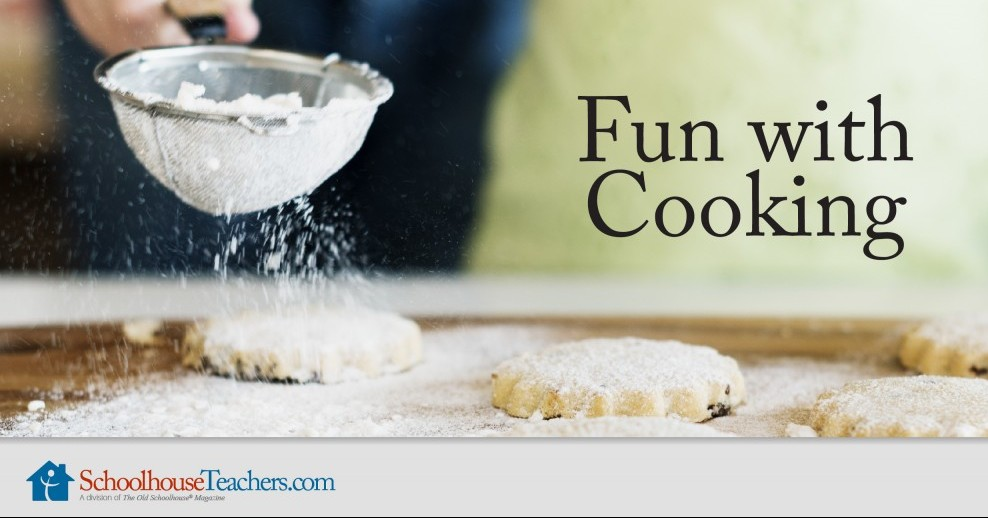 fun cooking with kids in their spare time