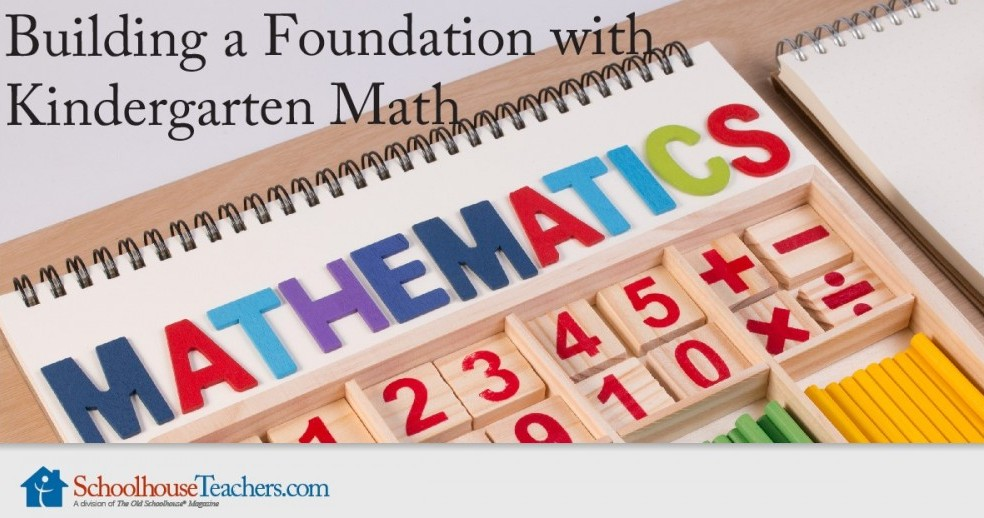 how to teach kindergarten math