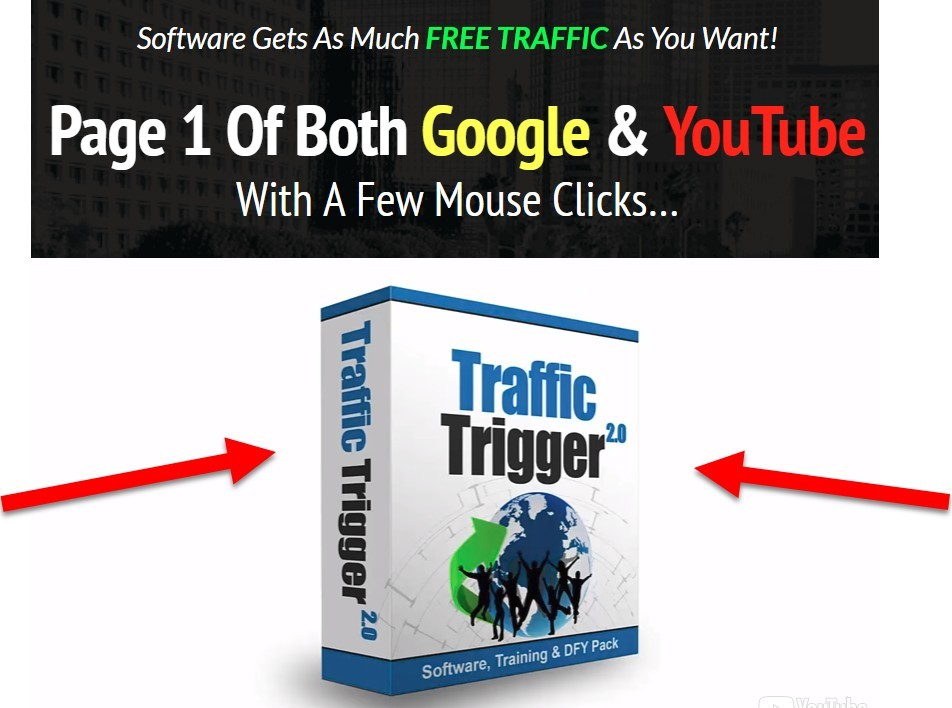 traffic trigger sales page