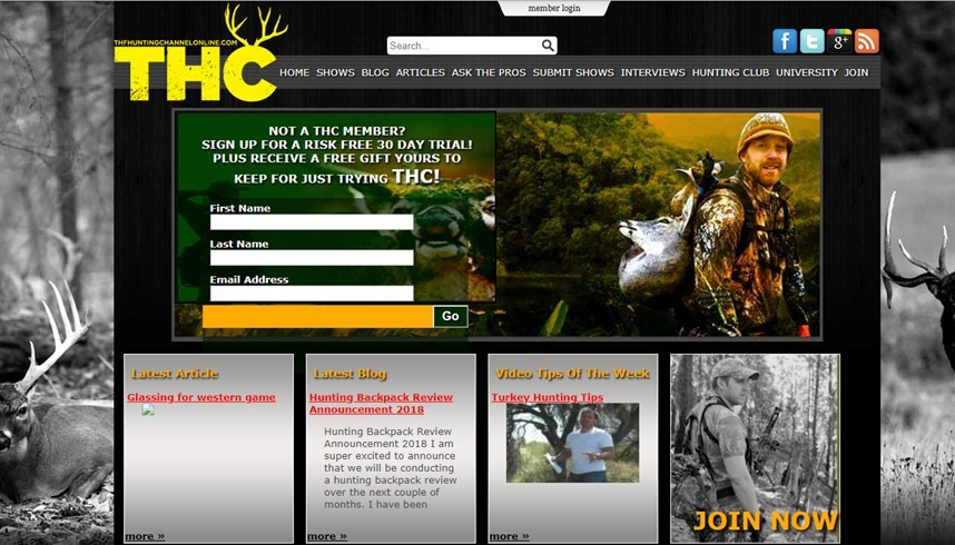 the hunting channel online