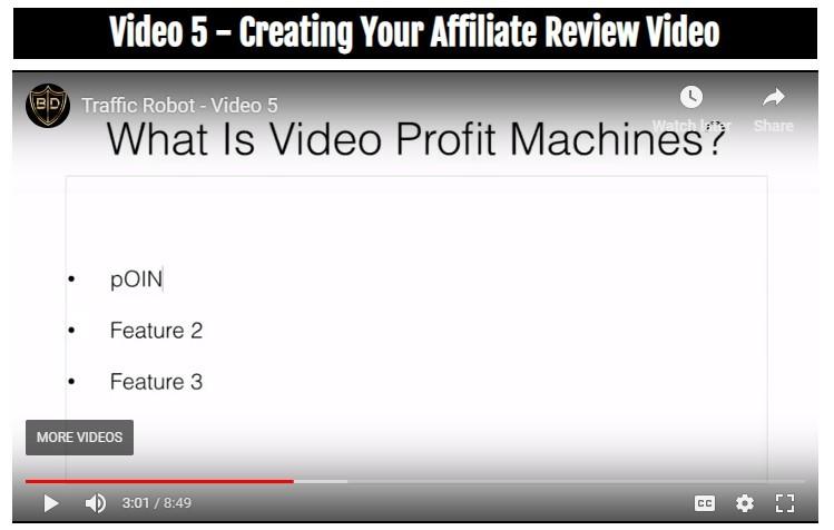 traffic robot or video profit machines
