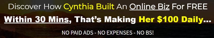 zero buster sales page headline