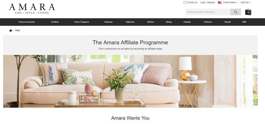 amara affiliate program