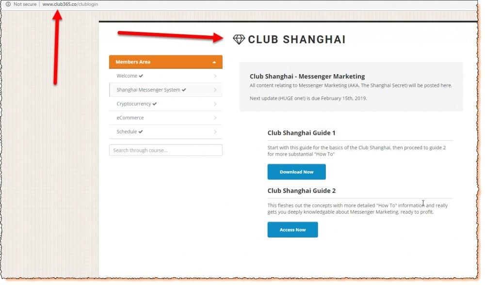 club shanghai or club 365