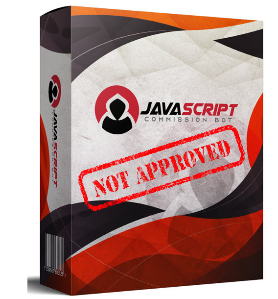 javascript commission bot not approved