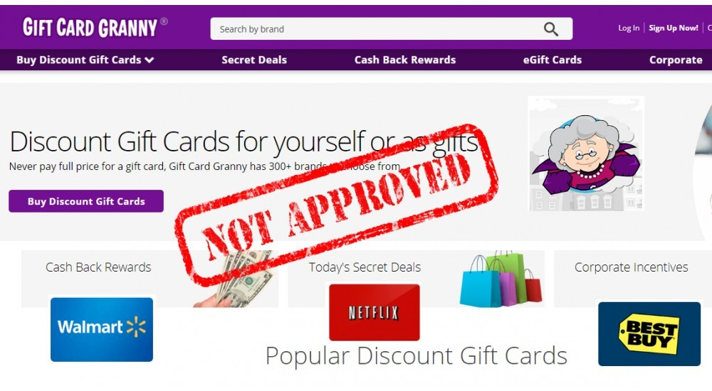 Gift Card Granny Review Can You Make Money Selling Gift Cards