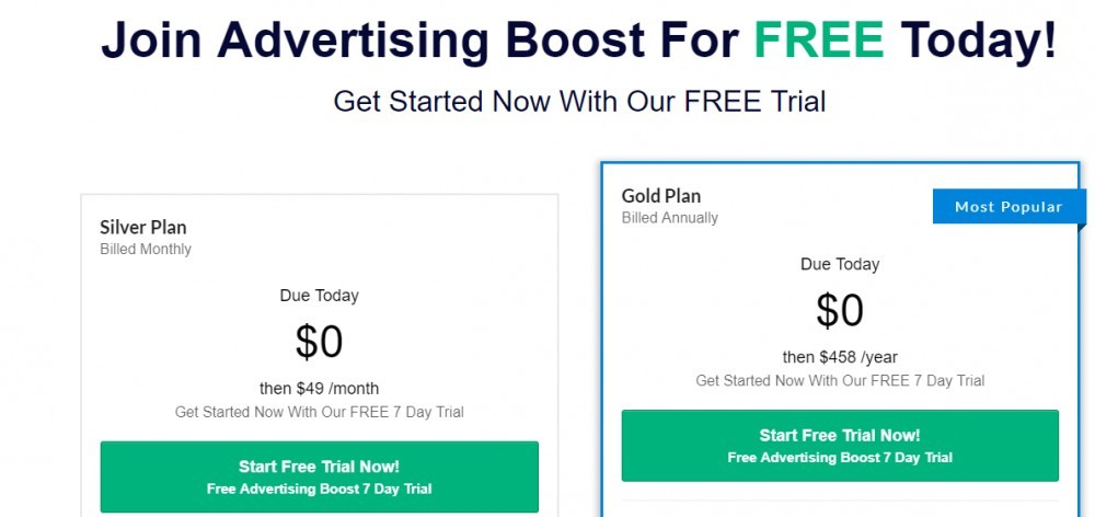 advertising boost cost