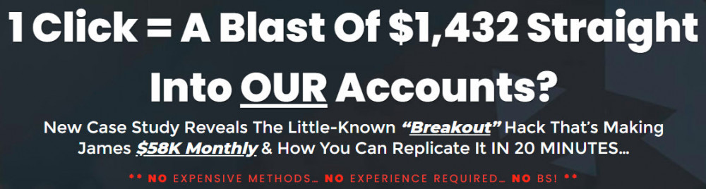 The Breakout Code Sales Page Headline