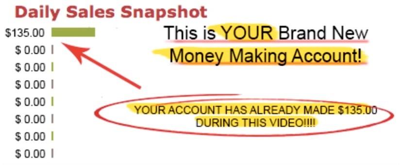 live money making proof