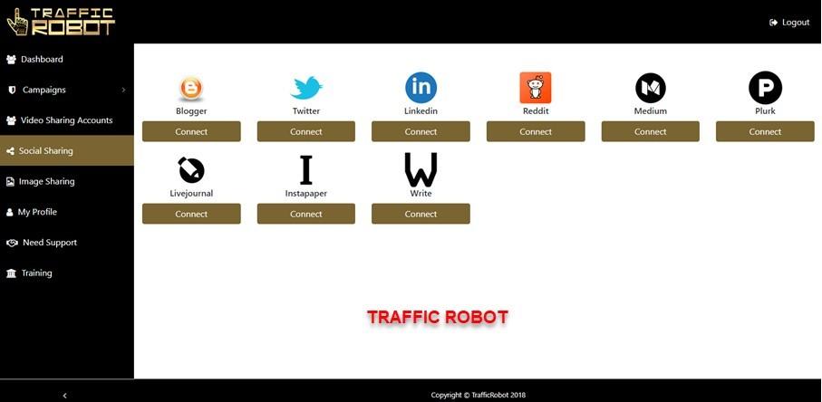 Traffic Robot dashboard