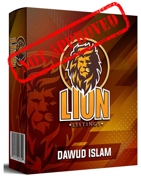 lion listings not approved