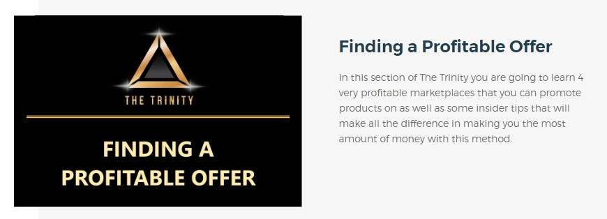 finding a profitable offer