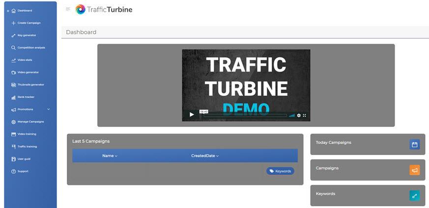 traffic turbine members area