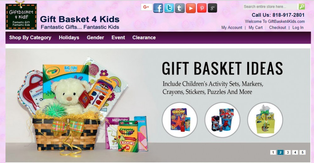 gift basket 4 kids affiliate program