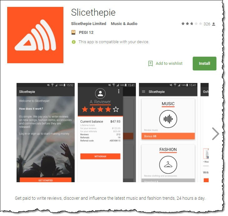 slice the pie app