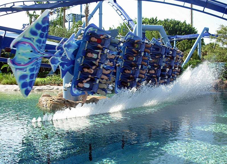 SeaWorld Manta Ray Ride