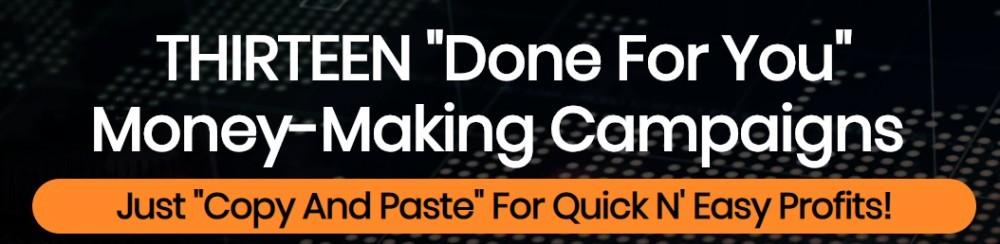 bang bang profits sales page headline