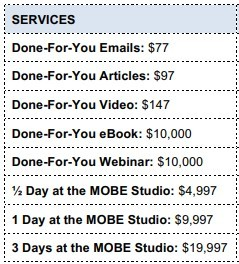 mobe services