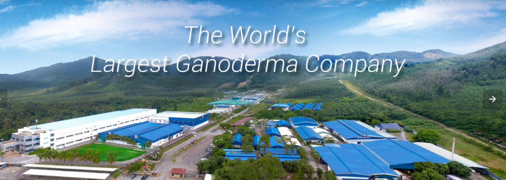 Manufacturing facilities of DXN labelled 'The world's largest Ganoderma company'