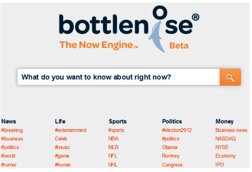 Bittlenose search page