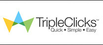 Tripleclicks logo with words Quick. Simple. Easy. for Is SFI's TripleClicks scam or legitimate? A review