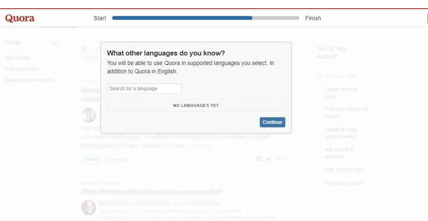 Quora what other languages do you know