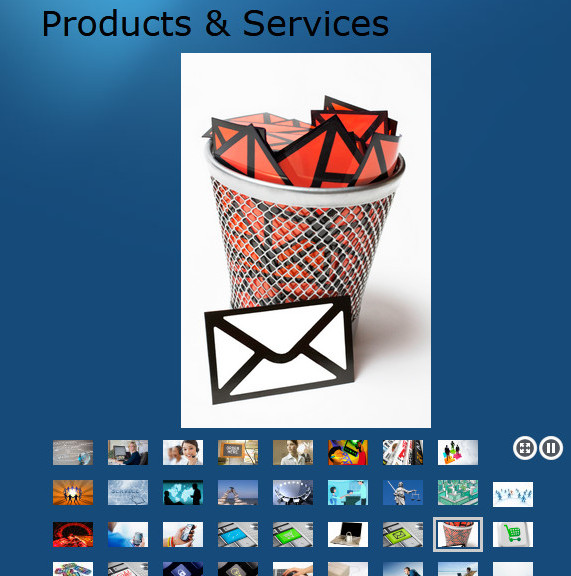 Legalshield products showing envelopes in a red basket and several small images below