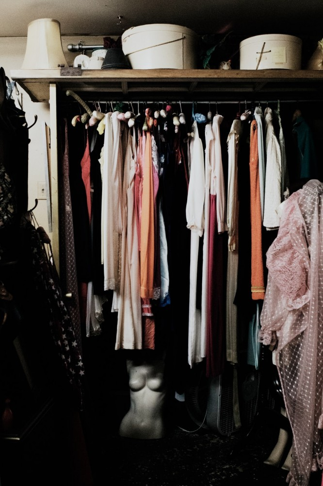 A closet to signify Selling out your Closet