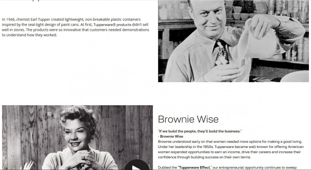 Earl Tupper and Brownie Wise as creators of Tupperware for are tupperware parties still profitable?