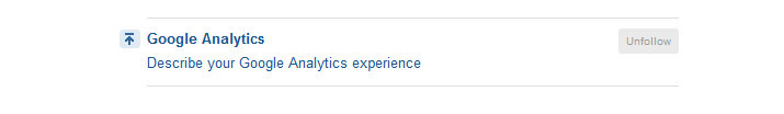 Quora describe your experience with each topics you are following.