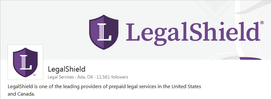 Legalshield logo with the letter L and the name for legalshield review