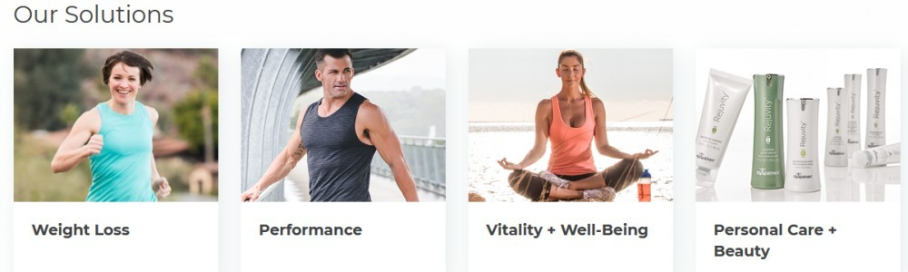 Isagenix solutions include weight loss, performance, vitality + well being, persoanl care + beauty