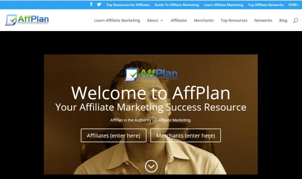 Affplan homepage