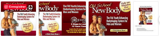 Old school new body images showing a muscled man with a taut body woman for Old School, New Body - Built For Life: Motto for a New You