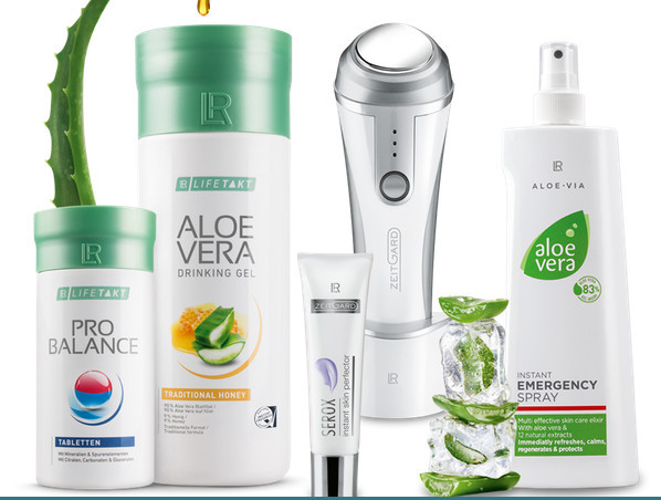 LT health and beauty products range