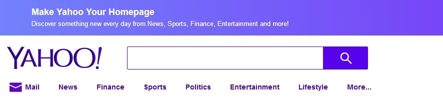 Yahoo! homepage as part of 88 Ways for Making Money Online at Home Free (Part III)