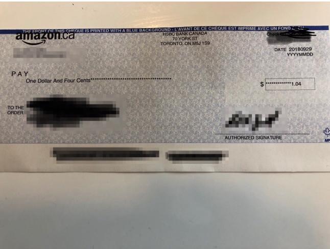 Small amazon affiliate check