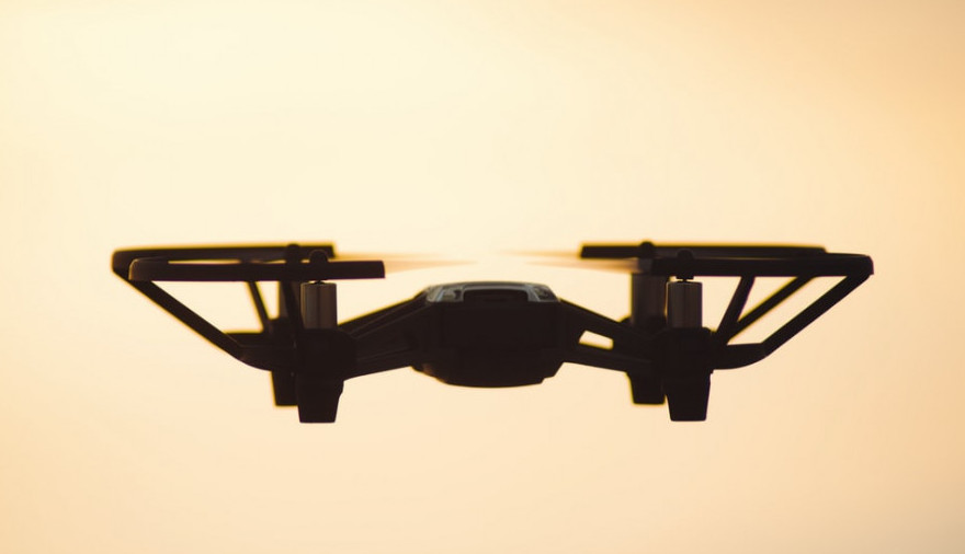 Drone to signify low