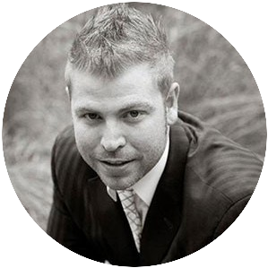 Passport black and white picture of Kyle, Wealthy Affiliate co-founder and Marketing Chief