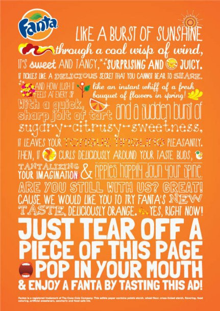 Illustration of conflicting fonts as blog content