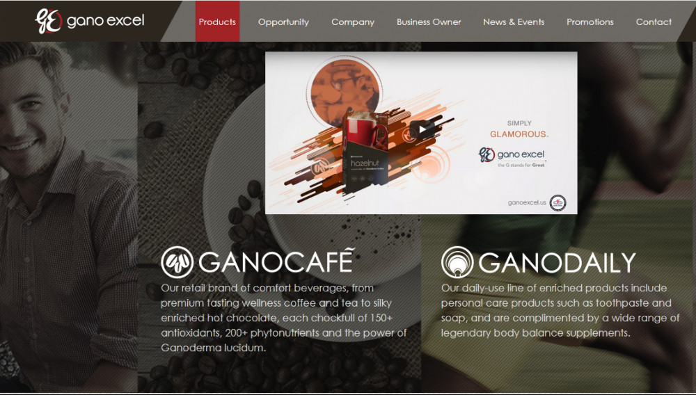 Gano Excel products: Ganocafé and Ganodaily