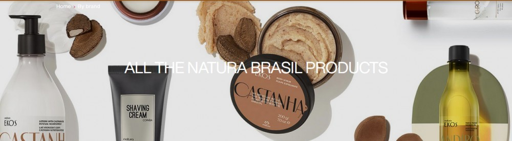 Natura products line